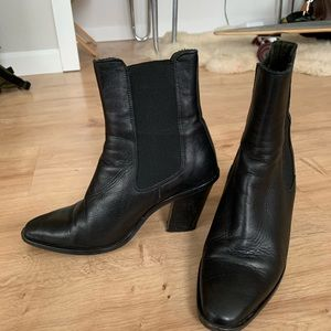 Top shop leather ankle boots
